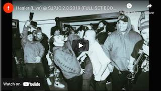 Healer (Live) @ SJPJC 2.8.2019 (FULL SET BOOTLEG)
