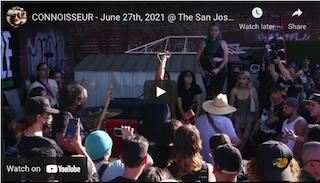 CONNOISSEUR – June 27th, 2021 @ The San Jose Punk Rock Flea Market (Full Set)