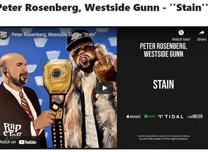 """Peter Rosenberg, Westside Gunn – """"Stain"""""""