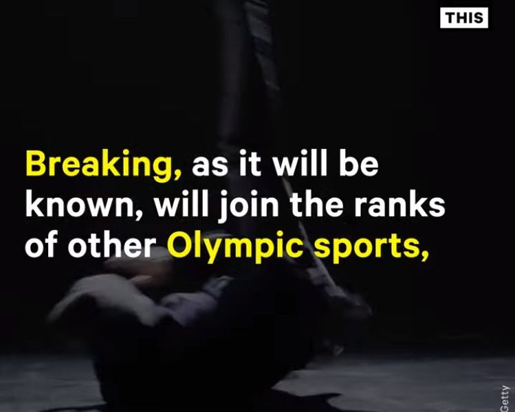 Break Dancing to Debut at the 2024 Olympics   NowThis