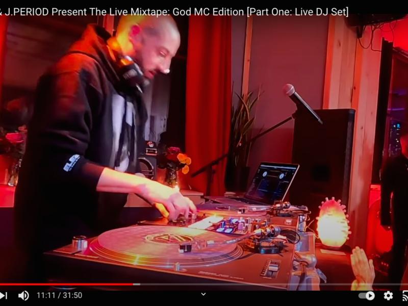 Rakim & J.PERIOD Present The Live Mixtape: God MC Edition [Part One: Live DJ Set]