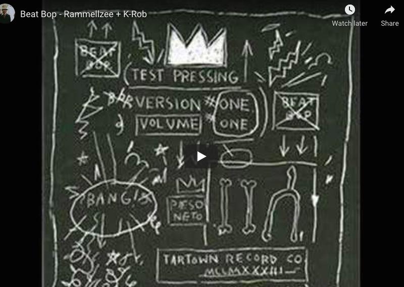 Beat Bop – Rammellzee + K-Rob