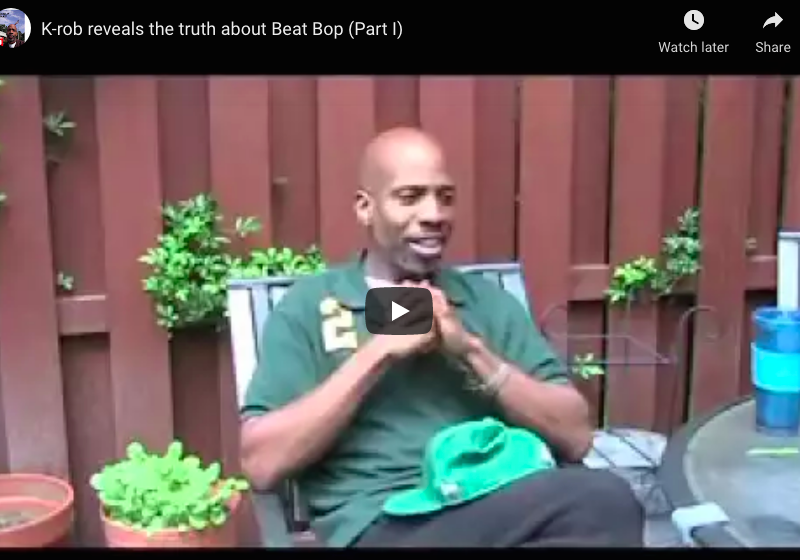 K-rob reveals the truth about Beat Bop (Part I & 2)
