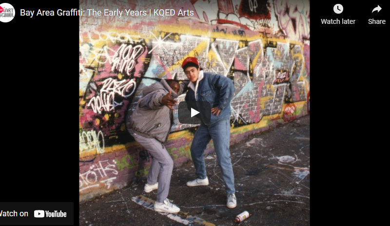 Bay Area Graffiti: The Early Years | KQED Arts