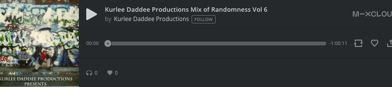 Kurlee Daddee Productions Mix of Randomness Vol 6