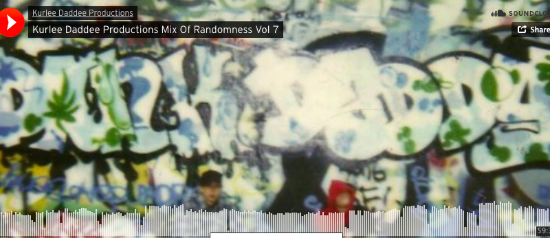 Kurlee Daddee Productions Mix Of Randomness Vol. 7