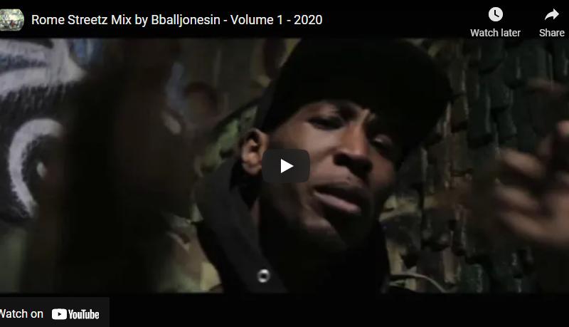 Rome Streetz Mix by Bballjonesin – Volume 1 – 2020 #flashbackfriday
