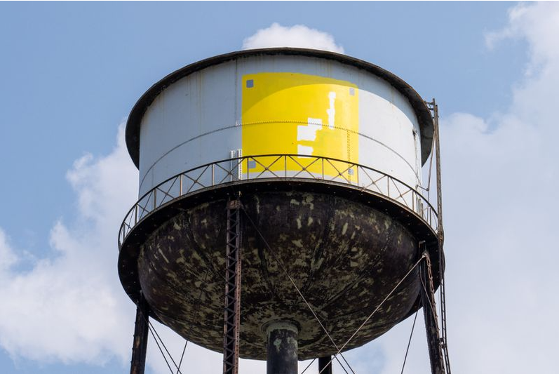 Graffiti artist scales Brooklyn water tower to paint Super Mario Bros. Question Block, sparks 12-hour standoff with cops