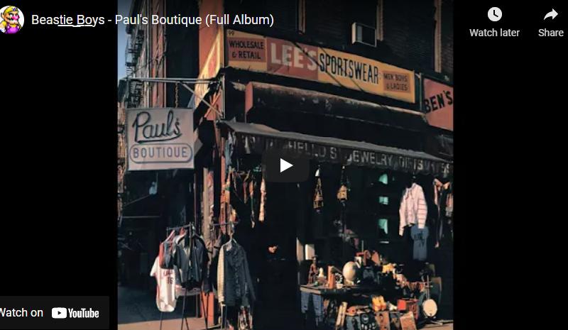 Beast̲i̲e̲ ̲B̲o̲ys – Paul's Boutique (Full Album)