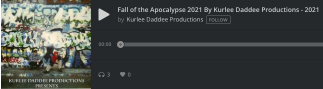 Fall Of The Apocalypse 2021 By Kurlee Daddee Productions – 2021